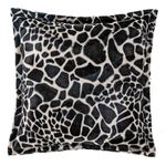 Capa-de-Almofada-Quadrada-Safari-Girafa