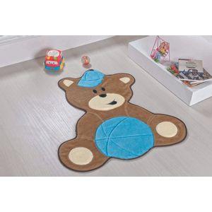 Tapete-Infantil-Bebe-Urso-Turquesa