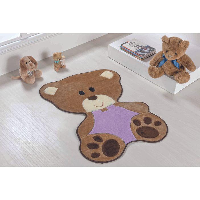 Tapete-Infantil-Bebe-Urso-Lilas