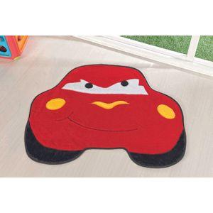 Tapete-Formato-Carro-Furioso-cor-Vermelho