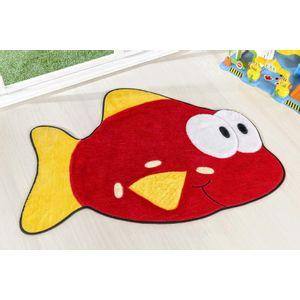 Tapete-Formato-Peixe-Vermelho