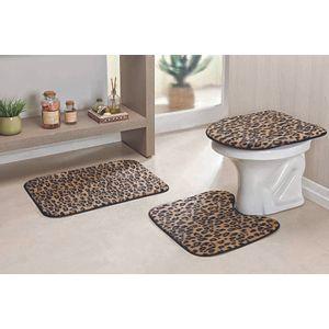 Jogo-de-Tapete-de-Banheiro-3-Pecas-Safari---Leopardo