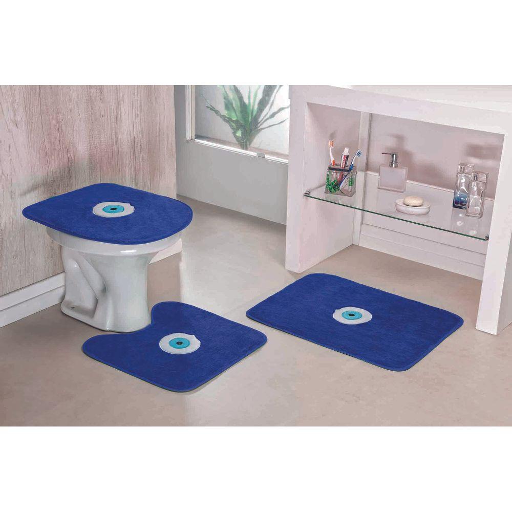 1d1f1d85f2 Jogo de Tapete de Banheiro 3 Peças Formato Margarida - Castor ...