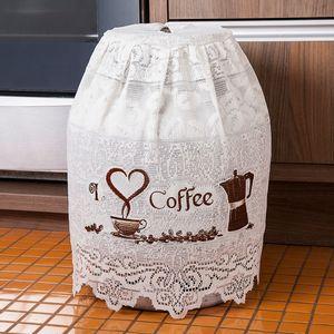Capa-para-Botijao-de-Gas-de-13kg-de-Renda-Bege-Grao-de-Cafe-Interlar