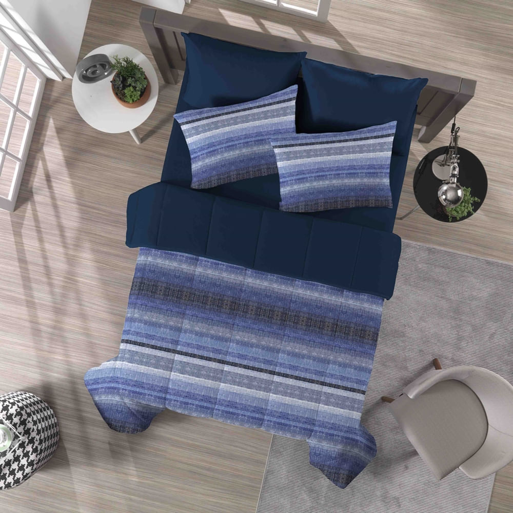 ae9a5894f2 edredom-flanela-touch-casa-raf-blue-marinho-portallar-