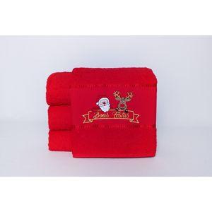 Toalha-de-natal-vermelha-papai-noel-e-hiena