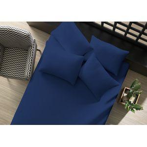 lencol-avulso-liso-com-elastico-king-azul-marinho