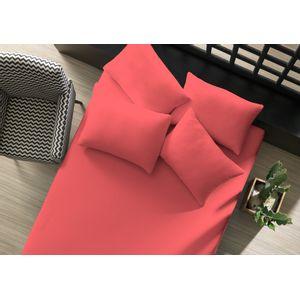 lencol-avulso-liso-com-elastico-king-rosa-coral