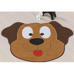 tapete-formato-cachorro-feliz-caramelo