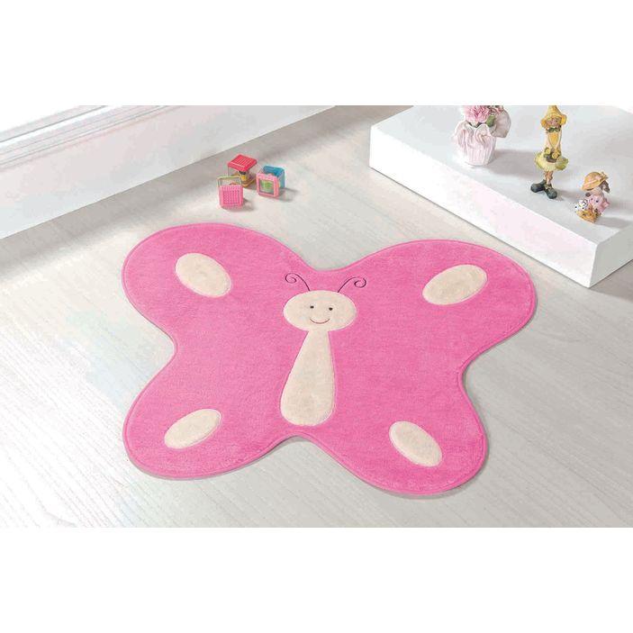 tapete-infantil-borboleta-feliz-rosa