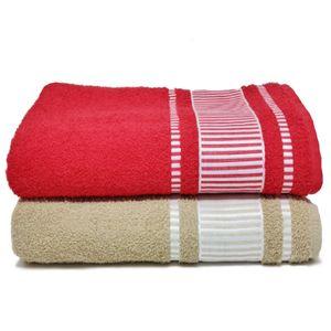 jogo-de-toalha-banhao-com-2-pecas-vermelho-e-areia