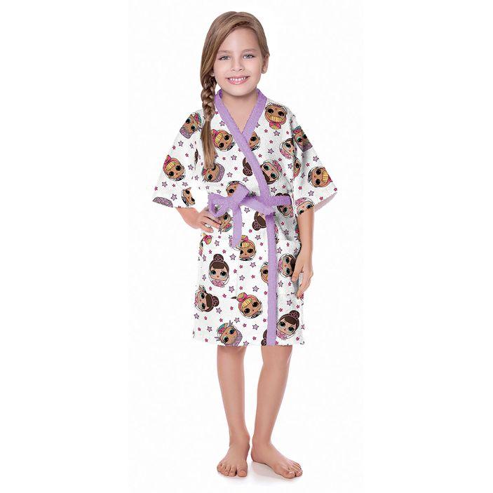 roupao-infantil-lepper-100-algodao-tamanho-p-lol-rosa
