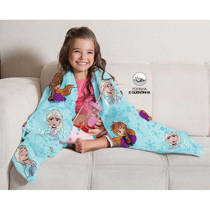 manta-cobertor-infantil-disney-frozen