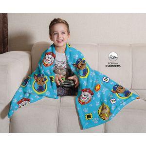 manta-cobertor-infantil-patrulha-canina-azul