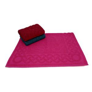 toalha-de-piso-para-banheiro-com-03-pecas-50-cm-x-70-cm-fucsia-carmim-e-agata-verde