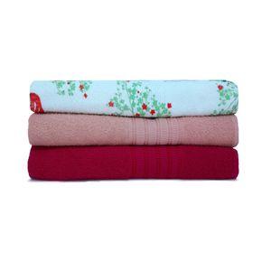 Jogo-de-toalha-de-banho-com-3-pecas-lisboa-e-italia-cereja-rose-e-rosas-vermelhas
