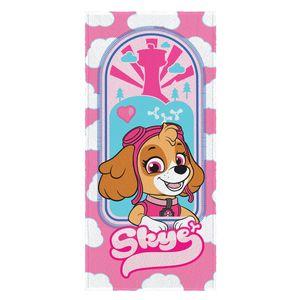 toalha-de-banho-infantil-aveludada-patrulha-canina-sky-rosa