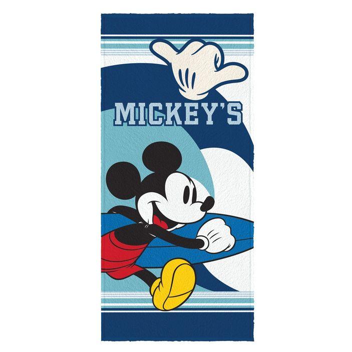 toalha-de-banho-infantil-felpuda-mickey-azul-marinho