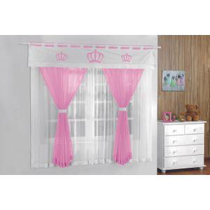 cortina-para-quarto-infantil-200x180-coroa-rosa