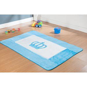 tapete-infantil-big-premium-20x74-coroa-real-azul-turquesa