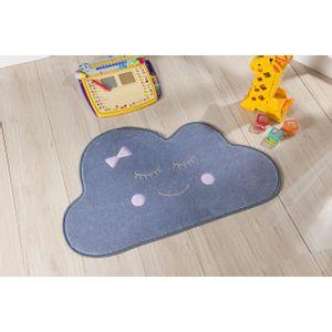 tapete-para-quarto-infantil-formato-baby-82x52-nuvem-cinza-rosa
