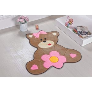 tapete-para-quarto-infantil-formato-baby-74cmx66cm-ursa-baby-rosa