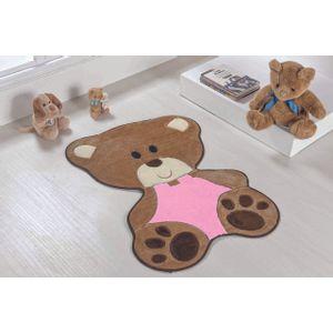 tapete-para-quarto-infantil-formato-baby-78cmx54cm-urso-bebe-rosa