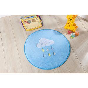 tapete-para-quarto-infantil-formato-baby-78cmx68cm-chuva-de-bencao-azul-turquesa