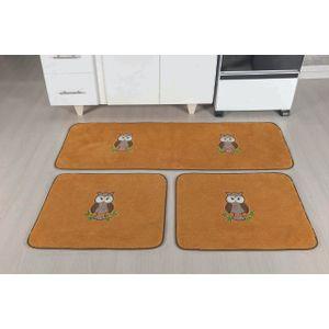 kit-d-tapete-de-cozinha-com-3-pecas-coruja-caramelo