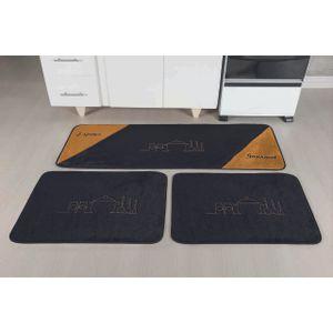 kit-d-tapete-de-cozinha-com-3-pecas-gourmet-preto