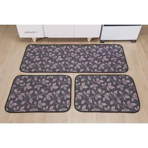 kit-d-tapete-de-cozinha-com-3-pecas-floral-cinza