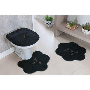 Jogo-de-Tapete-de-Banheiro-Infantil-3-Pecas-Formato-beija-flor-preto