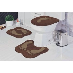 Jogo-de-Tapete-de-Banheiro-Bordado-3-Pecas-pegada-cafe