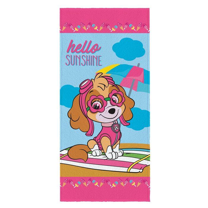 Toalha-de-Banho-Infantil-Felpuda-Antialergica-Lepper-–-60-cm-x-120-cm---Patrulha-Canina--Sky-Sunshine