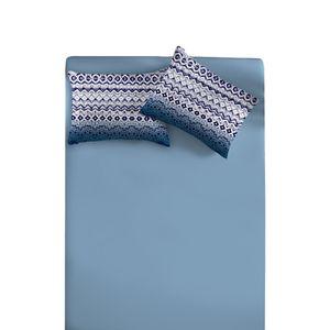 Jogo-de-Lencol-King-Doce-Vida-com-3-Pecas---Tricot-Azul-Placido