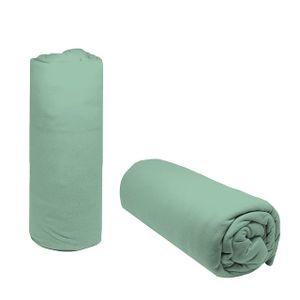 Lencol-Solteiro-Avulso-Liso-Doce-Vida-com-elastico---Verde-Sereno
