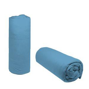 Lencol-Queen-Avulso-Liso-Doce-Vida-com-elastico---Azul-Placido